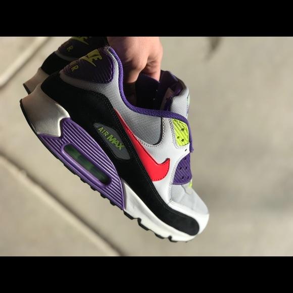 Nike Other - Air Max 90 sz 11 purple volt